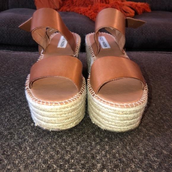 a5f49a0186 Steve Madden Shoes | Cali Espadrille Platform Sandal Worn Once ...